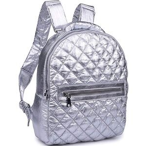 NWT Sol and Selene All Star Silver Backpack